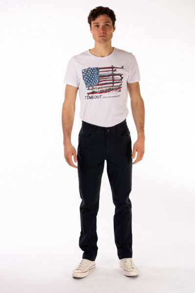 Timeout - Pantaloni lungi barbat de culoare inchisa