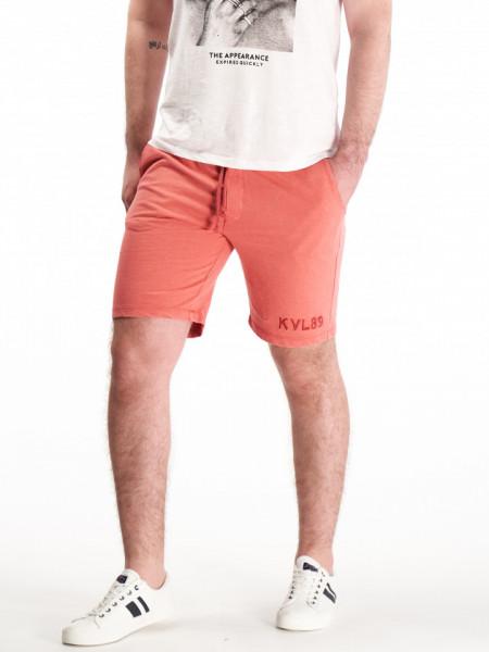 KVL - Bermude jogging barbat cu logo brodat