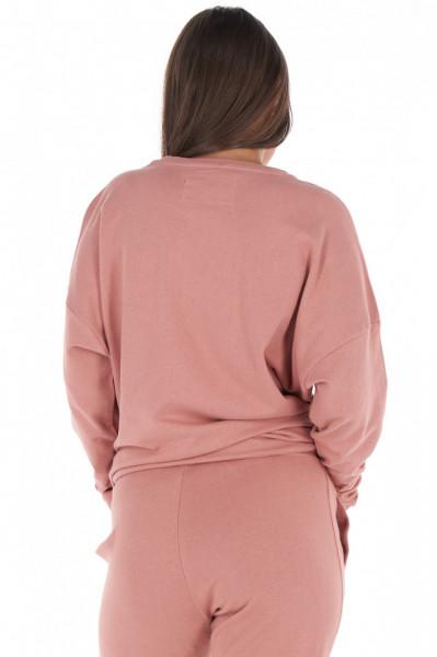 KVL - Bluza dama oversize cu imprimeu texturat