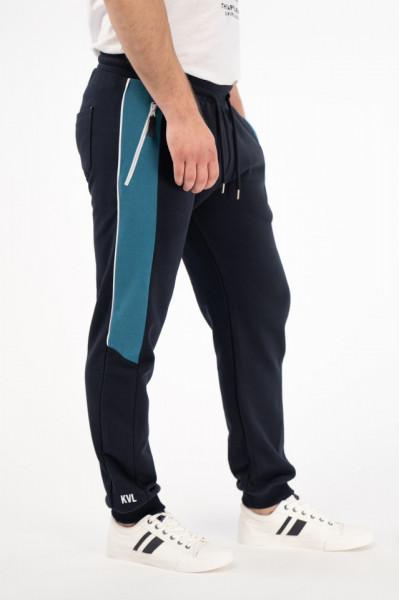 KVL - Pantaloni de trening cu snur de ajustare in talie