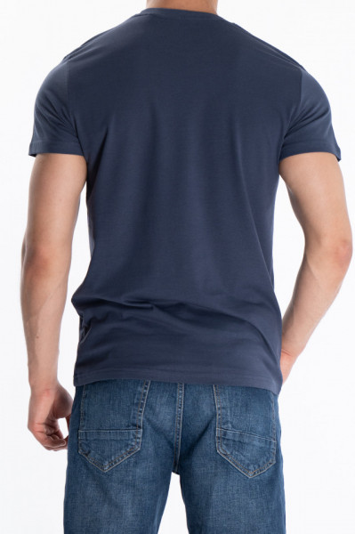 KVL - Tricou din bumbac cu maneca scurta si imprimeu
