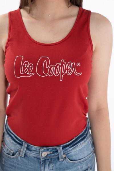 Lee Cooper - Maiou dama cu logo imprimat
