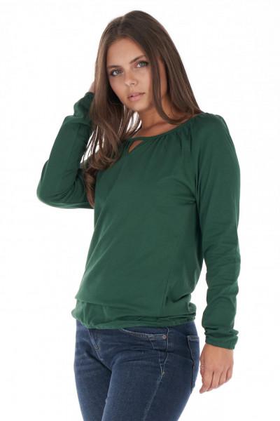 KVL - Bluza dama cu detaliu decupat la baza gatului