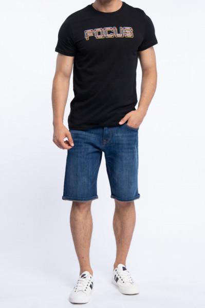 KVL - Tricou barbat din bumbac cu mesaj imprimat