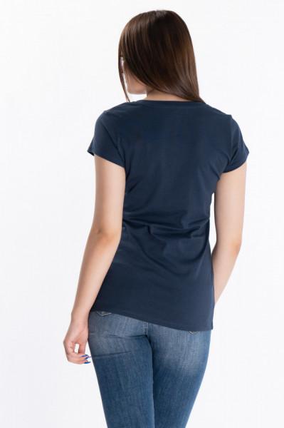 KVL - Tricou dama cu maneca scurta si imprimeu