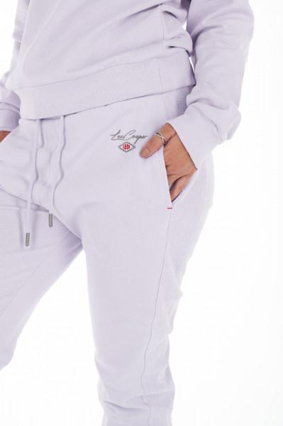 Lee Cooper - Pantaloni de trening dama cu detaliu logo