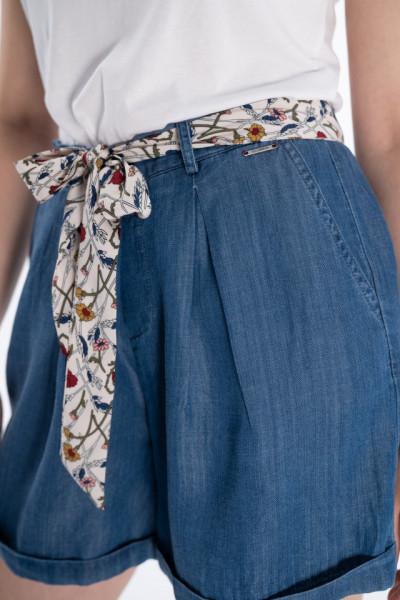 Lee Cooper - Pantaloni scurti dama cu cordon imprimat