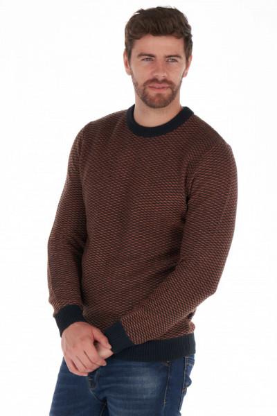 Lee Cooper - Pulover barbat cu margini contrastante