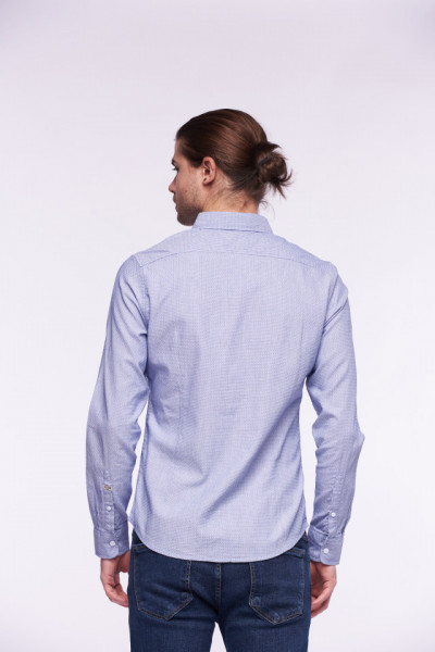 KVL - Camasa slim fit cu maneca lunga