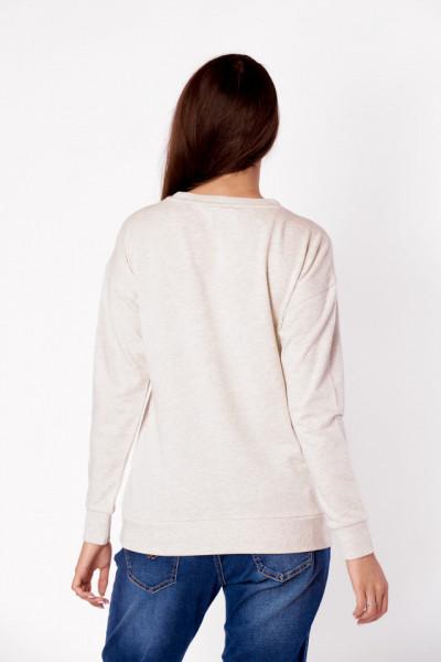 Lee Cooper - Bluza dama cu maneca lunga si logo