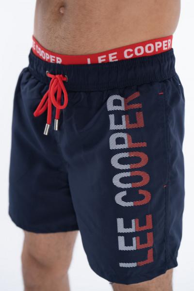 Lee Cooper - Sort de baie cu banda logo in talie