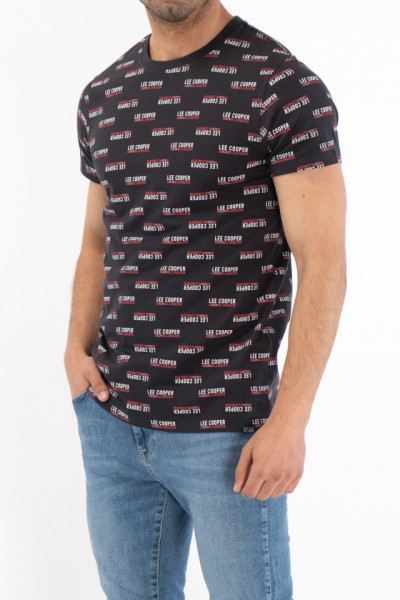 Lee Cooper - Tricou din bumbac cu imprimeu din logo
