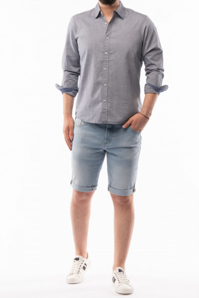 Timeout - Camasa barbat regular fit cu maneca lunga