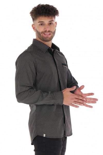 Timeout - Camasa barbat slim fit cu model