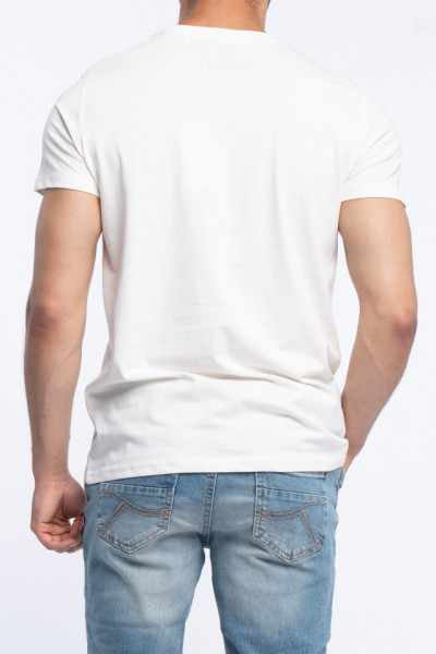 Timeout - Tricou din bumbac cu imprimeu tropical