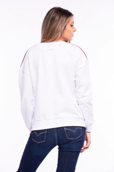Lee Cooper - Bluza maneca lunga cu logo pe piept