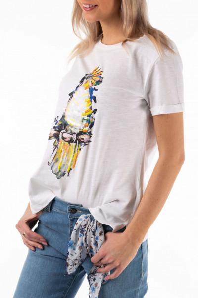 Montecristo - Tricou cu maneca scurta din bumbac cu imprimeu