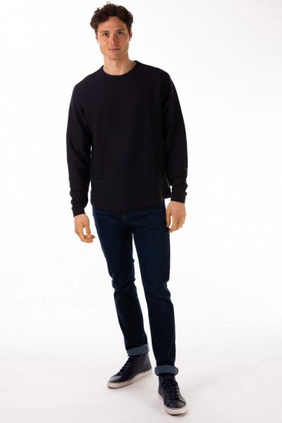 Timeout - Bluza cu maneca lunga si material texturat