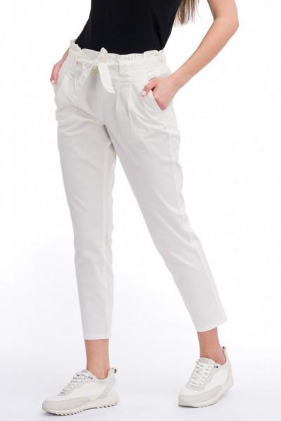 KVL - Pantaloni cu buzunare oblice si cordon in talie