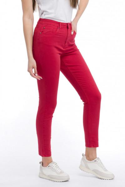 KVL - Pantaloni skinny cu talie medie