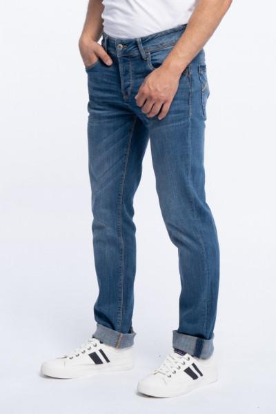 Lee Cooper - Blugi barbat cu aspect decolorat