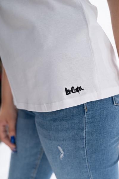 Lee Cooper - Tricou cu maneca scurta si cu mesaj la baza gatului