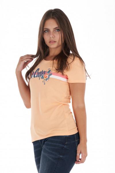Lee Cooper - Tricou dama din bumbac cu logo