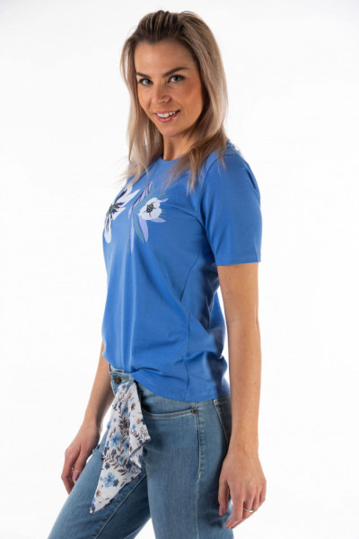 Montecristo - Tricou dama lejer cu model floral