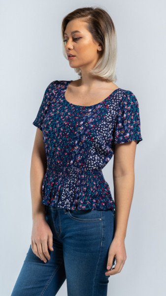 KVL - Bluza dama cu imprimeu floral
