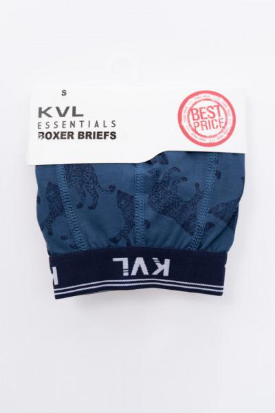 KVL - Boxeri barbat cu imprimeu si banda logo