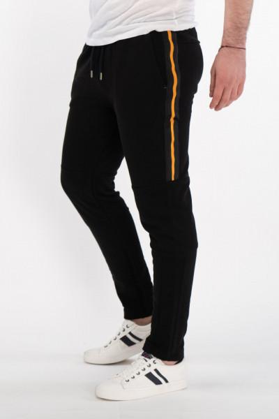 KVL - Pantaloni de trening cu detalii in lateral