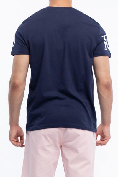 KVL - Tricou barbat din bumbac imprimat cu logo