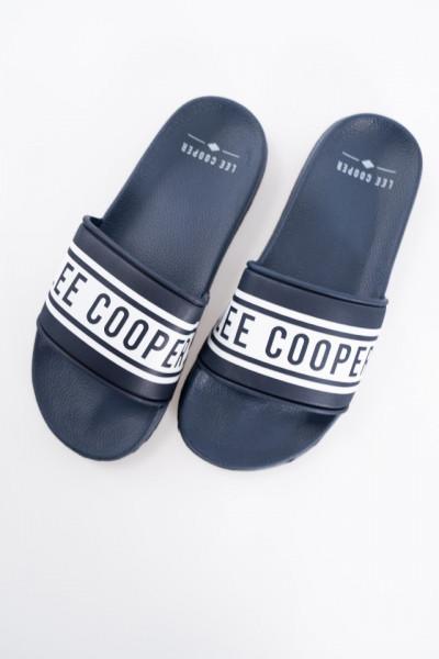 Lee Cooper - Papuci barbat cu logo imprimat