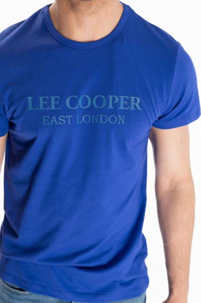 Lee Cooper - Tricou barbat cu maneca scurta si logo