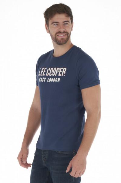 Lee Cooper - Tricou barbat maneca scurta cu logo imprimat