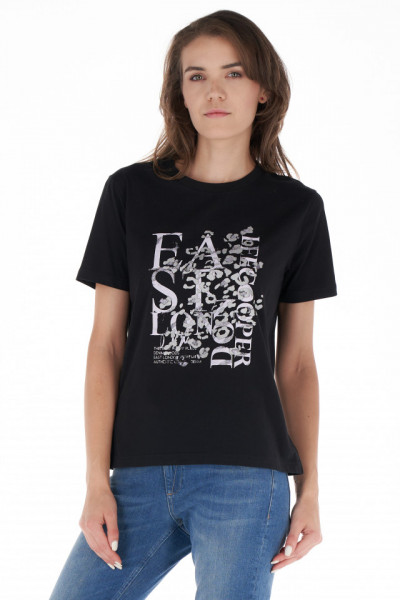 Lee Cooper - Tricou lejer dama din bumbac cu imprimeu
