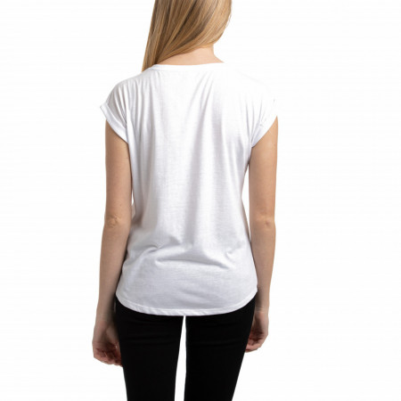 TRICOU MANECA SCURTA DAMA WHISPER WHITE TIMEOUT