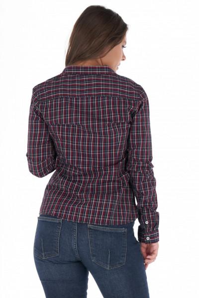 KVL - Camasa dama cu maneca lunga si imprimeu in carouri