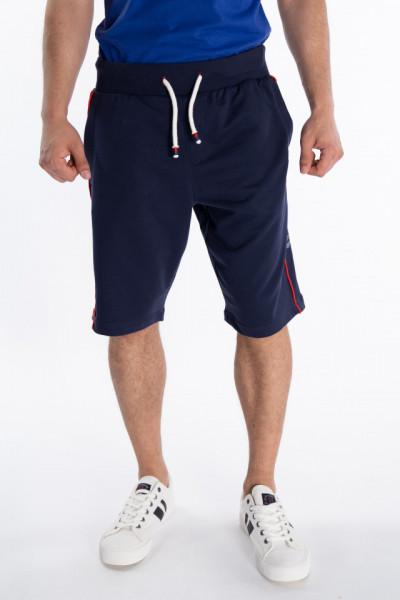 Lee Cooper - Bermude jogging cu buzunare si logo in lateral