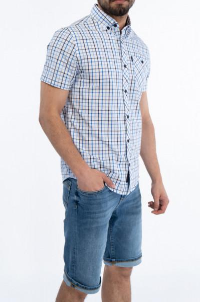 Lee Cooper - Camasa maneca scurta cu buzunar aplicat