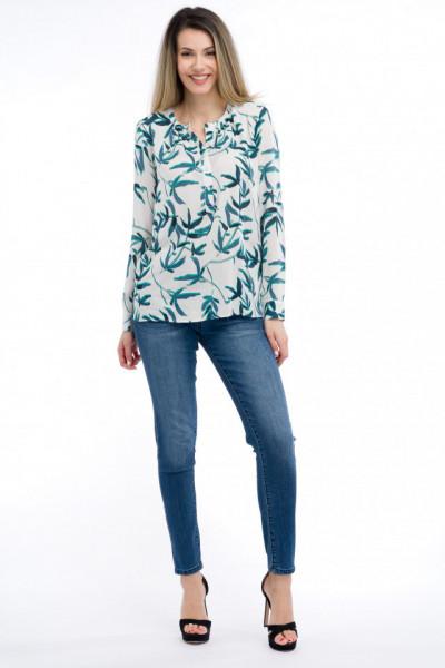 Timeout - Camasa tip tunica cu imprimeu floral