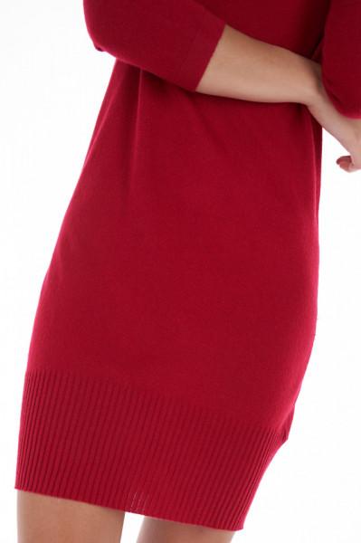 Timeout - Rochie dama din tricot subtire cu maneci 3/4
