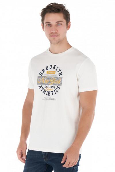 Timeout - Tricou barbat din bumbac cu model