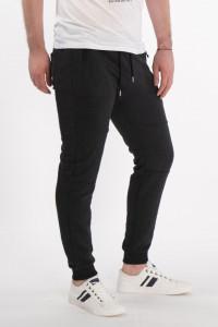 KVL - Pantaloni de trening cu buzunare si logo