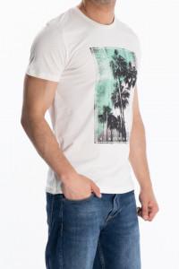 KVL - Tricou din bumbac cu imprimeu tropical