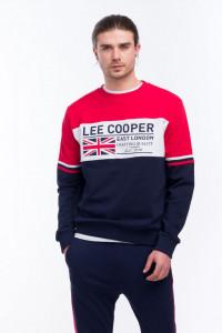 Lee Cooper - Bluza cu maneca lunga si logo pe piept