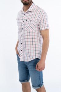Lee Cooper - Camasa slim fit cu buzunar aplicat