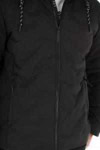Lee Cooper - Jacheta barbat cu gluga si aspect matlasat