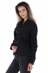 Lee Cooper - Jacheta dama din denim cu buzunare aplicate