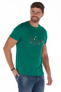 Lee Cooper - Tricou barbat cu maneca scurta si imprimeu logo